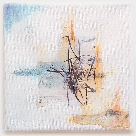 Graines_2-partie gauche canvas mixed media, par Miryl, 2016
