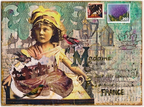 Mail art, par Miryl 2019