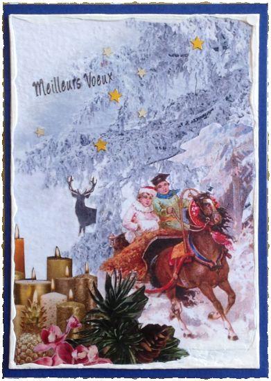 Les cartes de Noël 2019, par Miryl
