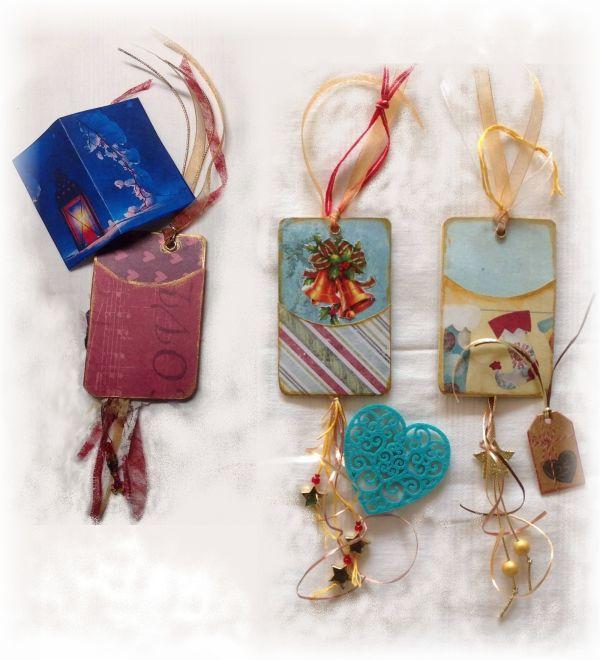 Cartes à jouer altérées Noël