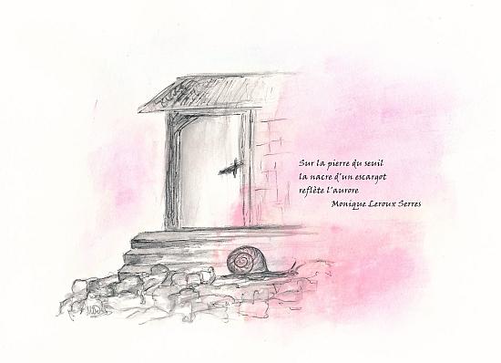 Haïkus de cet été Illustration, dessin sur papier, par Miryl, 2020